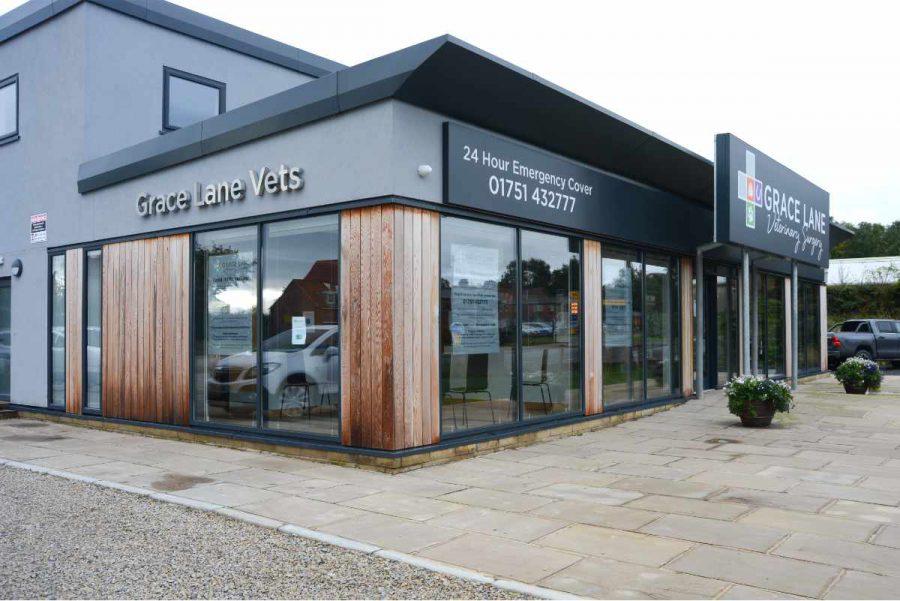 Grace Lane Vets veterinary practice exterior